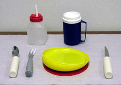 Adapted equipment for feeding